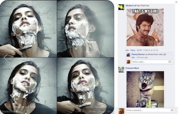 Sonam Kapoor's saving photo shoot