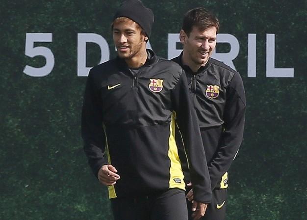 Messi Neymar Barcelona