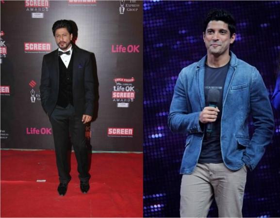 Farhan Akhtar and Shah Rukh Khan