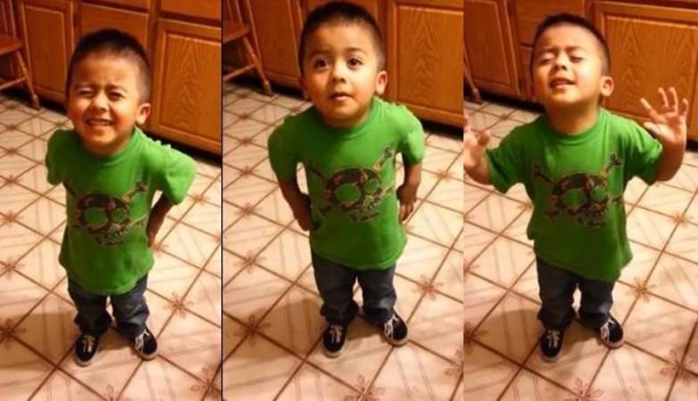 3-year-old Mateo