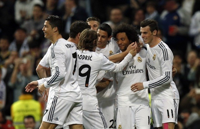 Real Madrid Marcelo Ronaldo Bale Di Maria