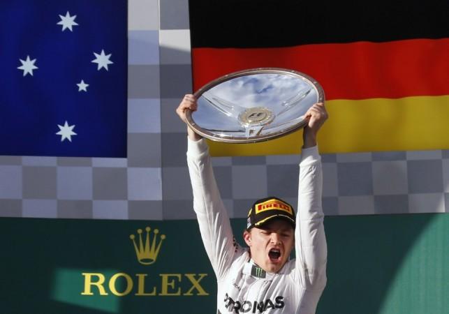 Formula One driver Nico Rosberg