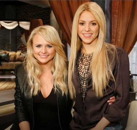 Miranda Lambert, Shakira, The Voice USA 2014