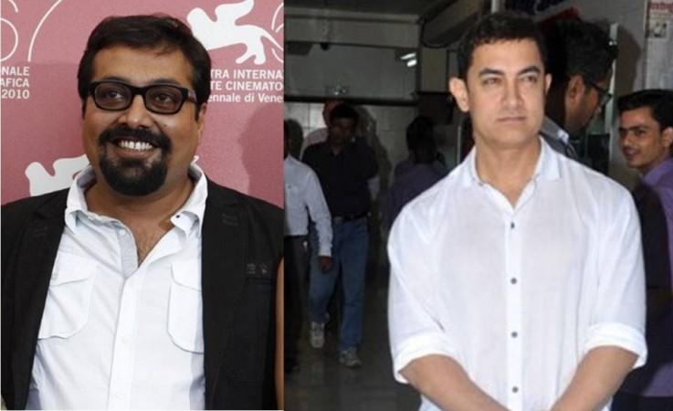 Anurag Kashyap and Aamir Khan