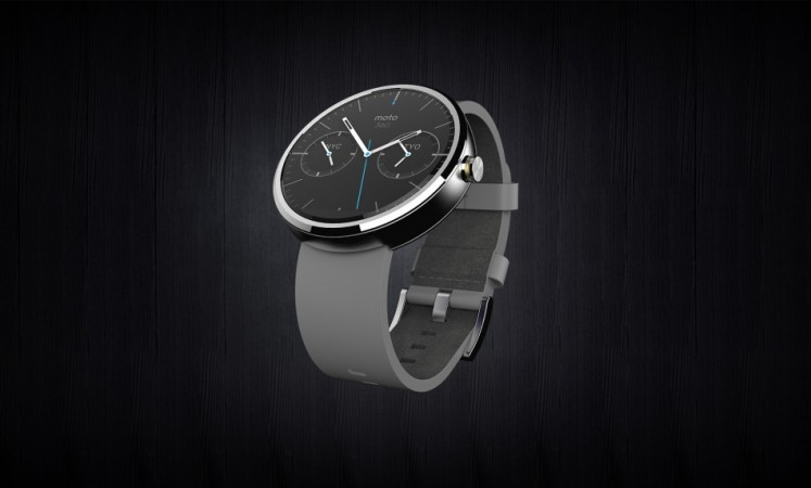 Moto 360 (Leather) from The Offical Motorola Blog