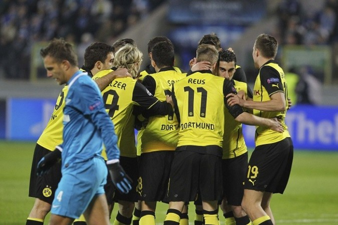 Zenit Borussia Dortmund