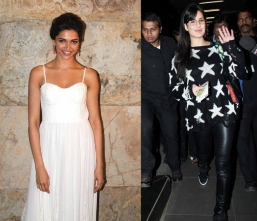 Deepika Padukone and Katrina Kaif