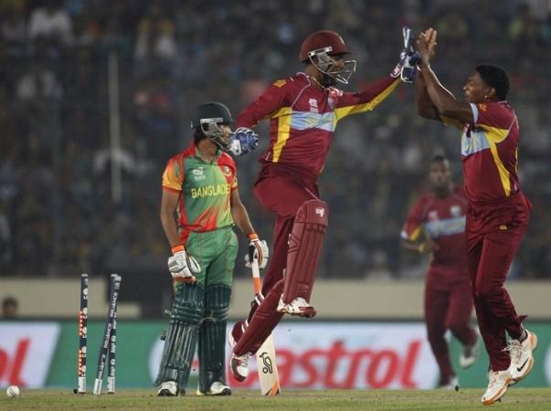 Ramdin Santokie West Indies Bangladesh