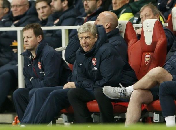 Arsene Wenger Arsenal Colin Lewin
