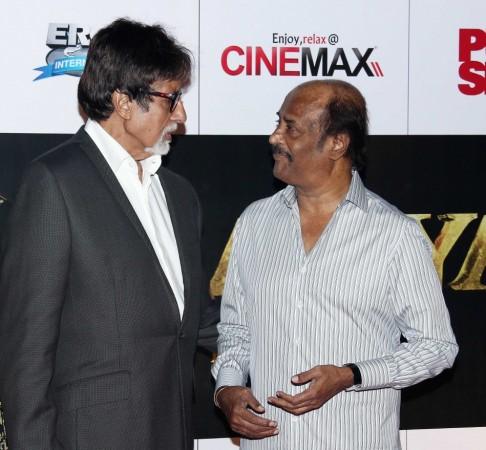 Amitabh Bachchan and Rajinikanth