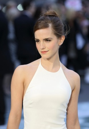 "Emma Watson at the London Premiere of ""Noah""."