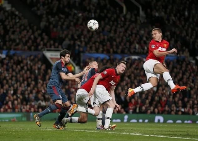 Nemanja Vidic Manchester United Bayern Munich