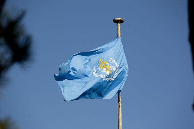 The World Health Day is celebrated every year on 7 April (Image: Flag of WHO, Wiki Commons)