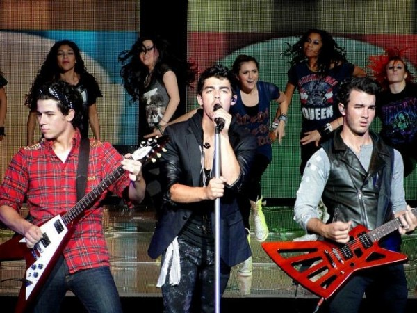 The Jonas Brothers (Photo Credit: WikimediaCommons/Paige's Concerts)