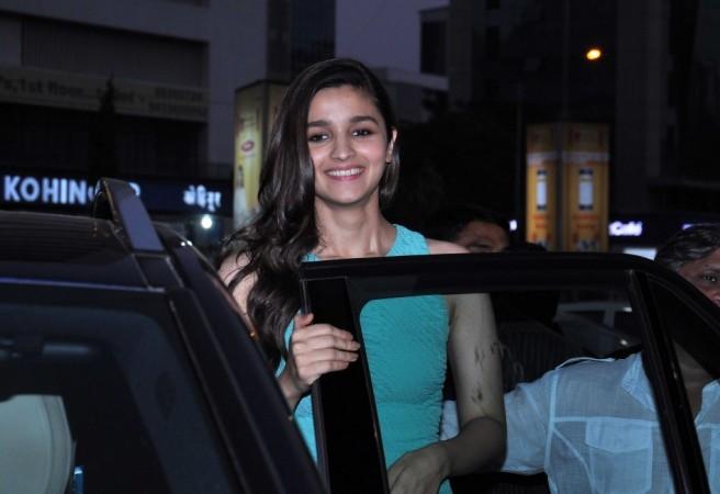 Alia Bhatt visits PVR Andheri to promote '2 States'