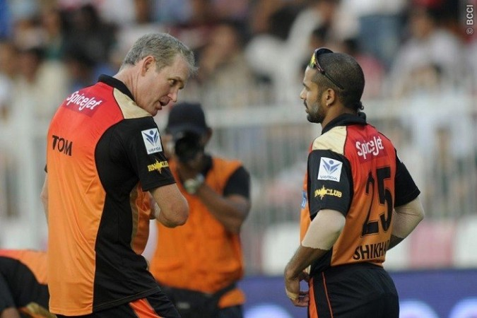 Tom Moody Shikhar Dhawan Sunrisers Hyderabad