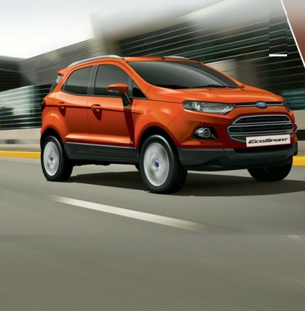 Ford EcoSport to Be Offered With Daytime Running LEDs in India: Report