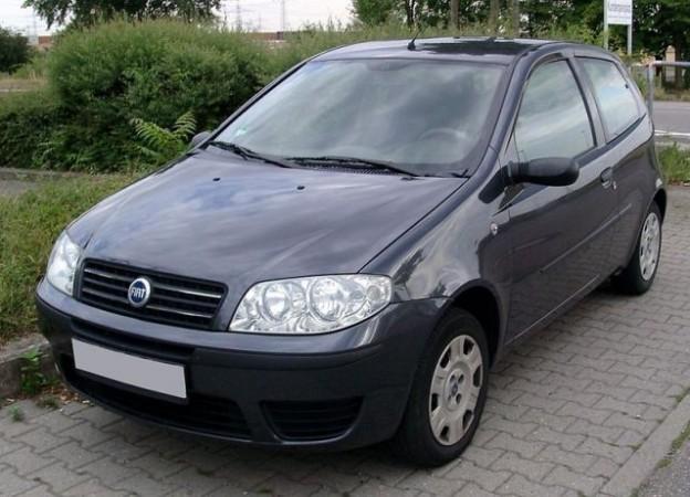 Fiat Punto (Photo: WikimediaCommons/RudolfStricker)