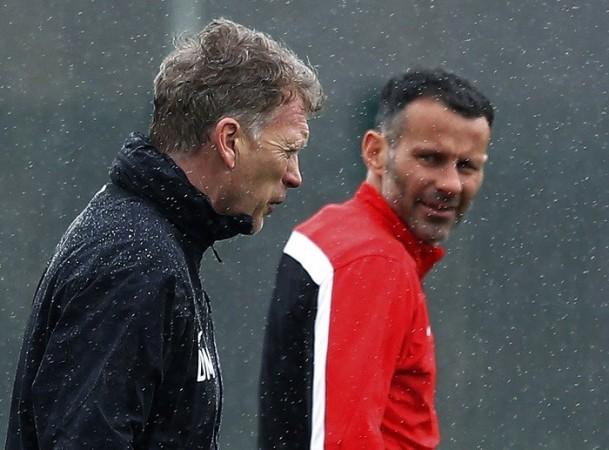 David Moyes Ryan Giggs Manchester United