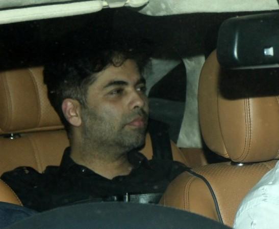 Karan Johar at Aamir Khan's residence
