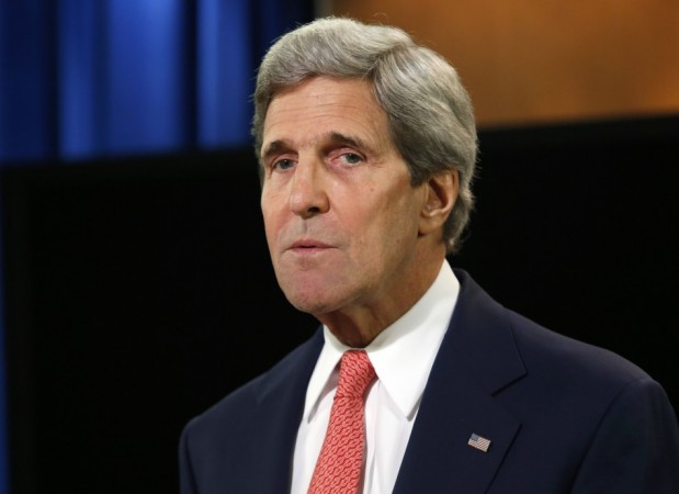"John Kerry has denied that he made a comment about Israel becoming an ""apartheid state"". (Photo: Reuters)"