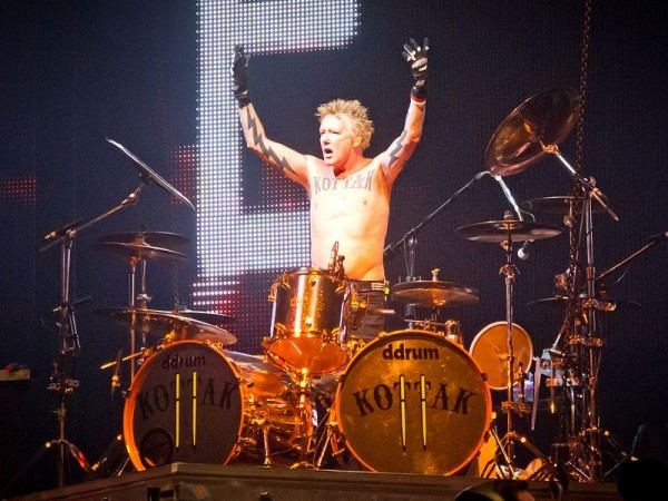 The Drummer for the German rock band Scorpions James Kottak has been jailed for a month in Dubai for cursing Muslims. (Image: Wikimedia Commons/Carlos Delgado)