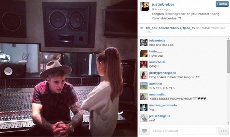 Eccezionale Justin Bieber Teaming Up with Ariana Grande for Duet XM04