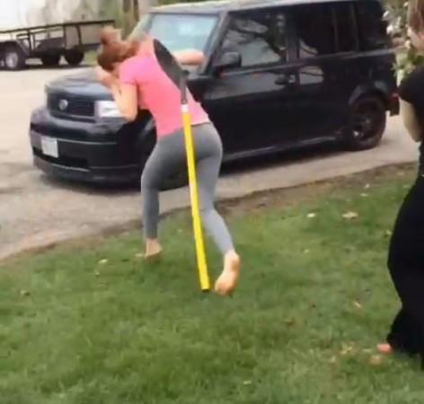Shovel Fight Girl