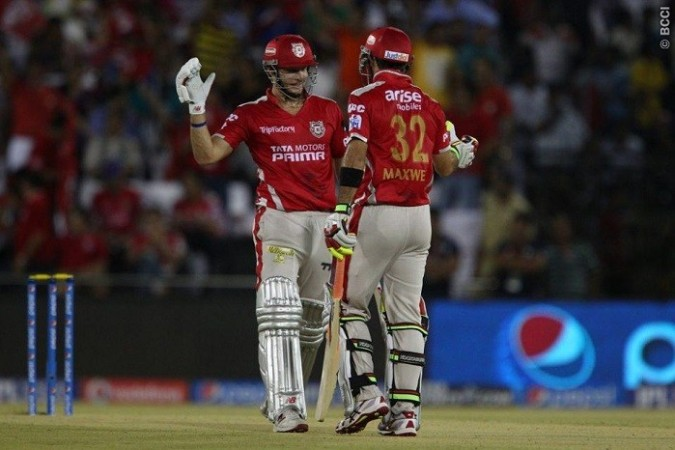 David Miller Glenn Maxwell Kings XI Punjab