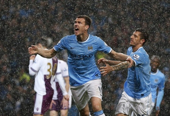 Dzeko Jovetic Manchester City