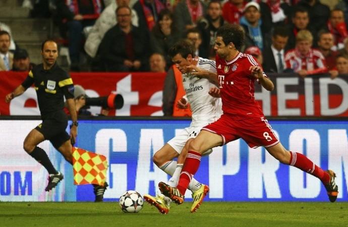 Javi Martinez Gareth Bale Bayern Munich Real Madrid