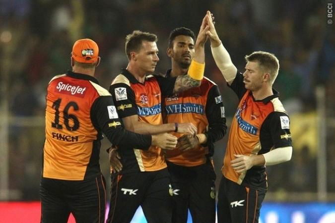 Steyn Warner Rahul Sunrisers Hyderabad