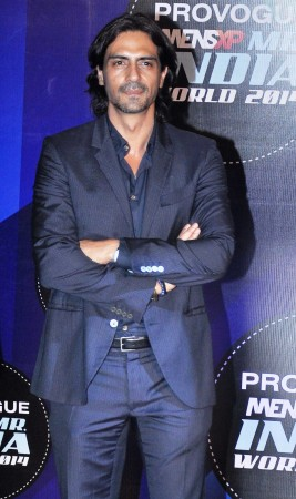 Arjun Rampal judge the first edition of  Provogue MensXP Mr. India 2014 in Mumbai
