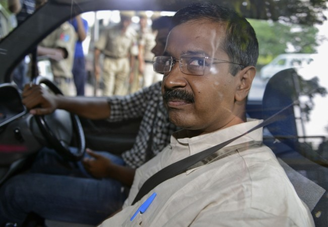 The chief of the Aam Aadmi party (AAP) Arvind Kejriwal spent the night in Delhi's Tihar jail after being arrested in a defamation case.