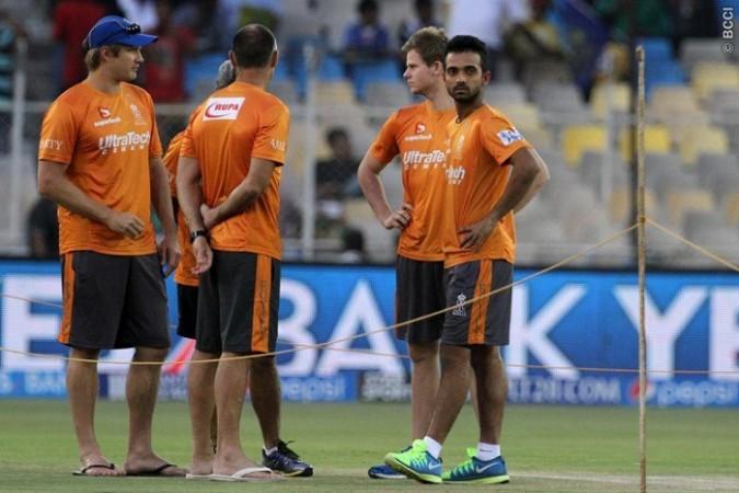 Rajasthan Royals Watson Rahane Smith