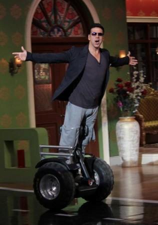 Akshay Kumar turns TV show producer