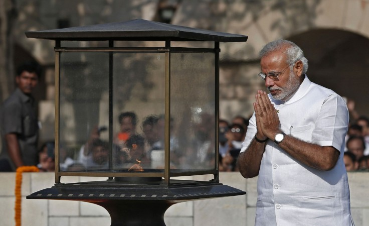 Modi's swearing-in ceremony, in New Delhi