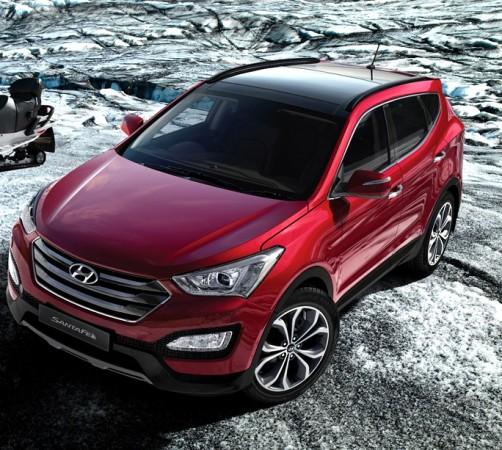 Hyundai India Recalls 2,437 Santa Fe SUVs for Stop Lamp Switch Replacement