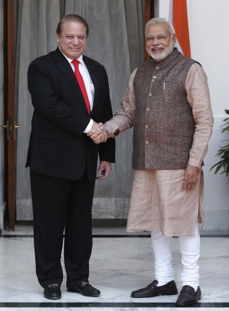 In his meeting with Pakistan's Prime Minister Nawaz Sharif, Narendra Modi on Tuesday raised cross-border terror and the issues related to 26/11 attack. ( A file photo)