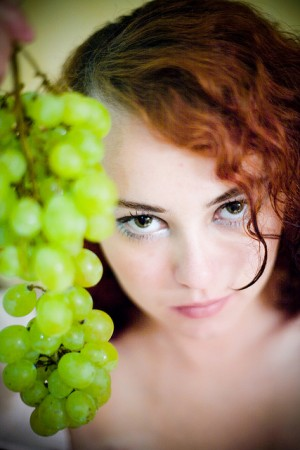 Grapes, eyes