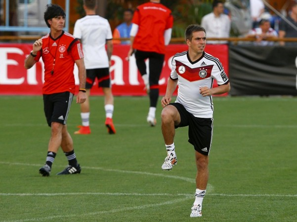 Joachim Low Philipp Lahm Germany