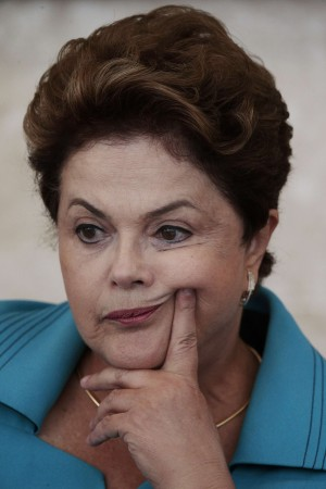 Amid fears of protests and strikes on the first day of the football world cup 2014 in Brazil, President Dilma Rousseff has defended the huge amount of money spent for the event.