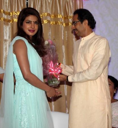 Priyanka Chopra, Uddhav Thackeray