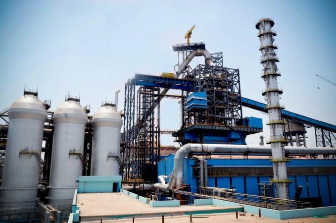 Blast Furnace in India at SAIL Plant - Representational Image