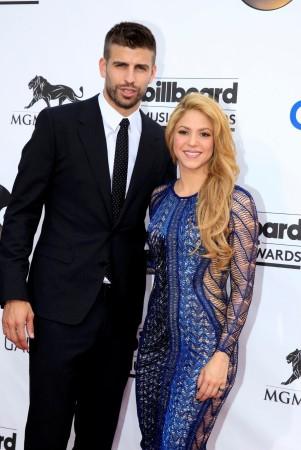 Shakira and Gerard Pique