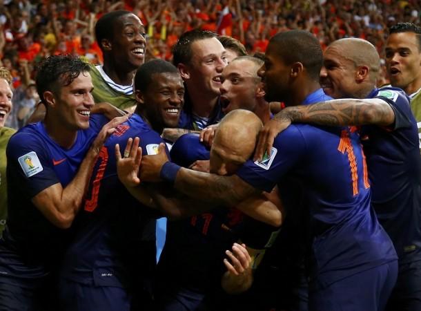 Netherlands Robben Sneijder Van Persie