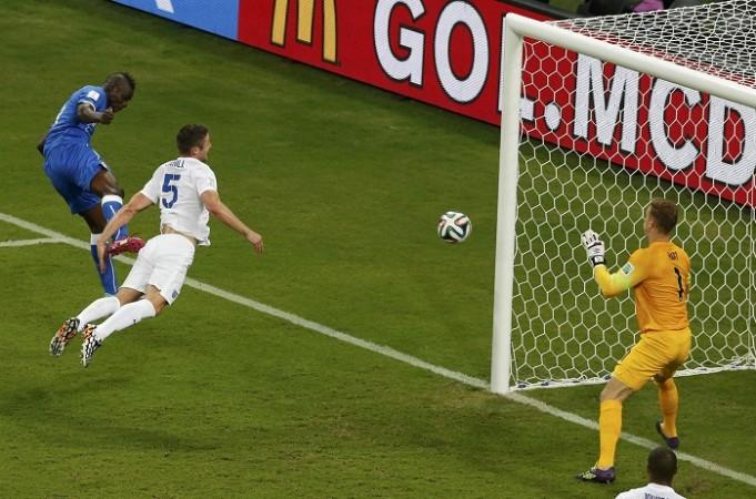 Balotelli Italy England