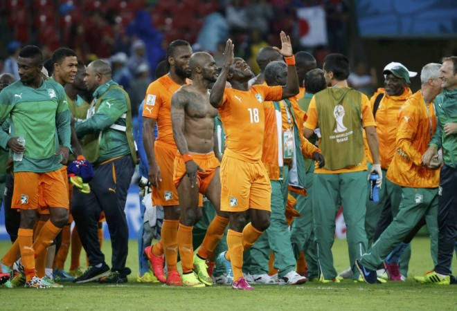 Ivory Coast v Japan