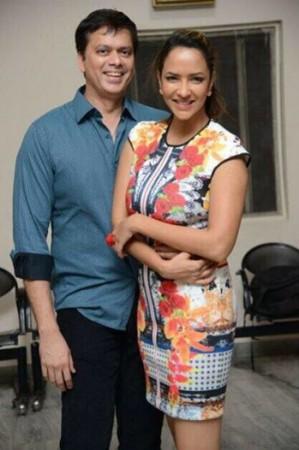 Lakshmi Manchu with husband Andy Srinivasan