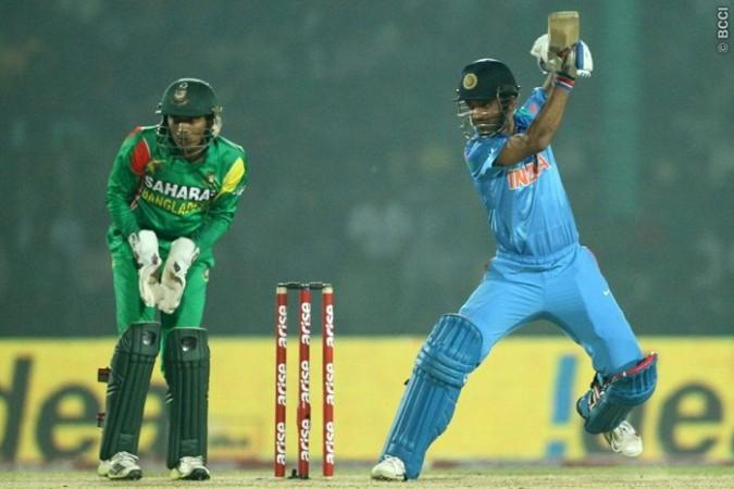 Rahane India Bangladesh
